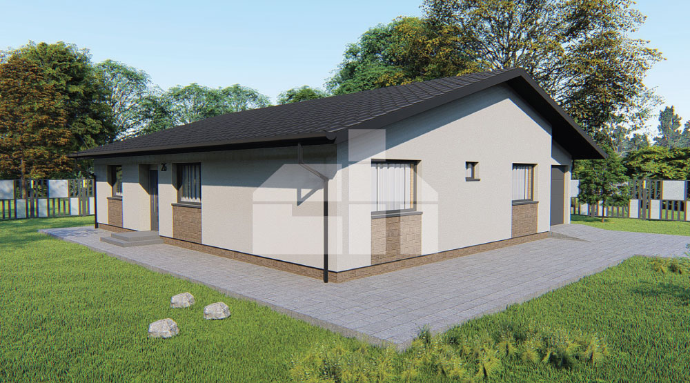 Four bedroom bungalow with garage - no.26