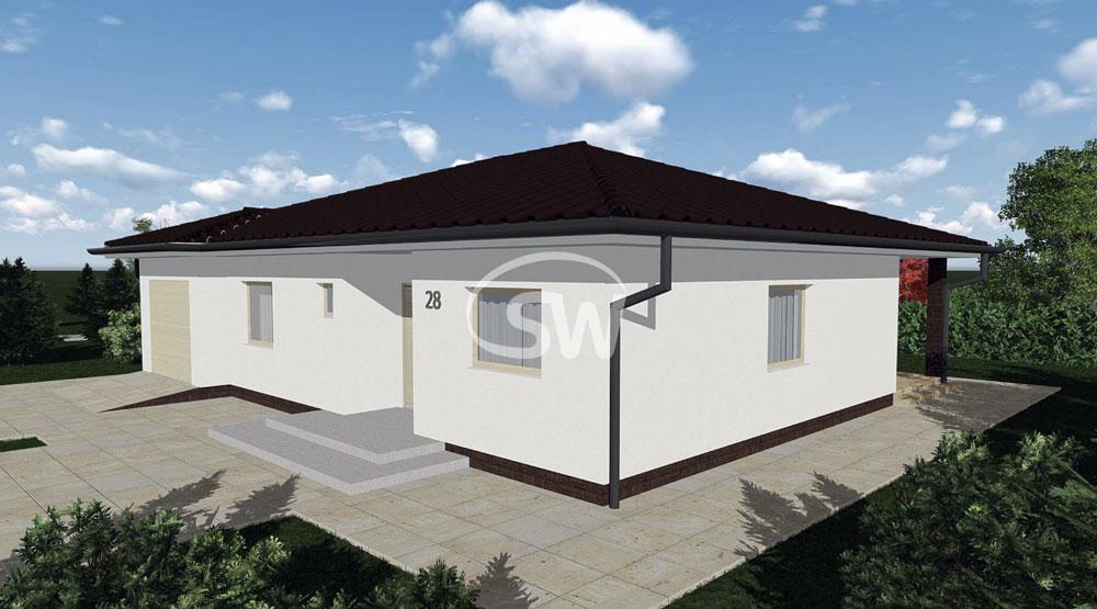 Three bedroom bungalow with garage
