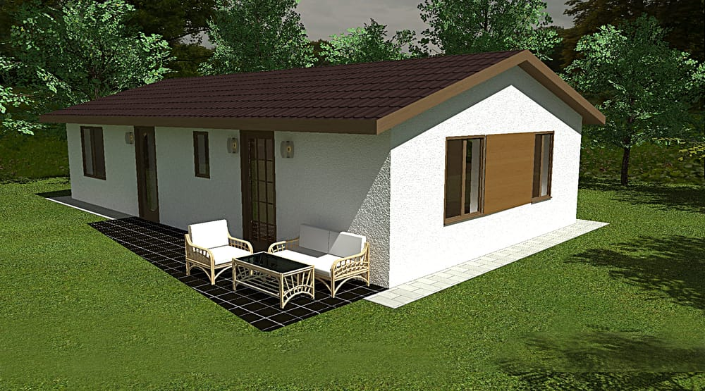 Two bedroom bungalow - No.94