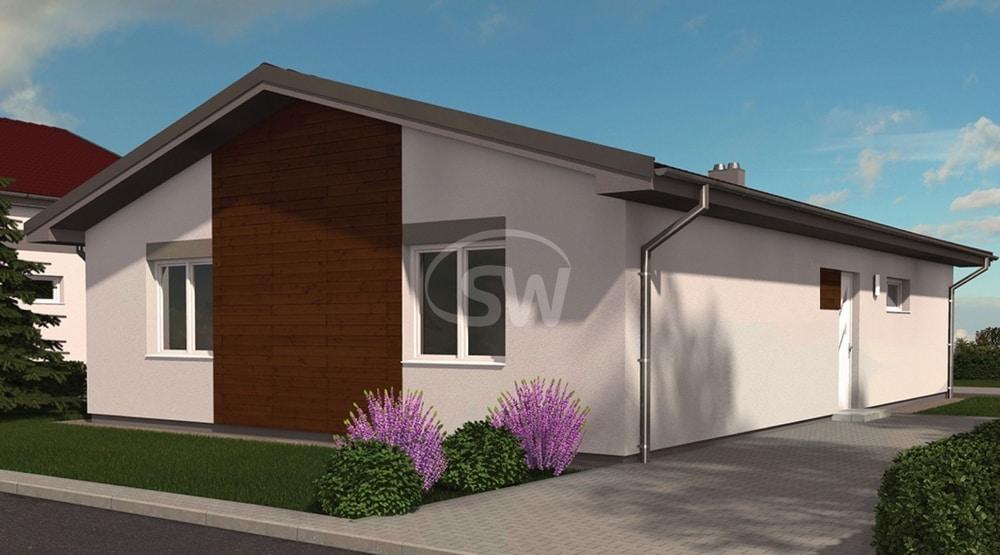 Malý bungalov pre úzky pozemok - č.14