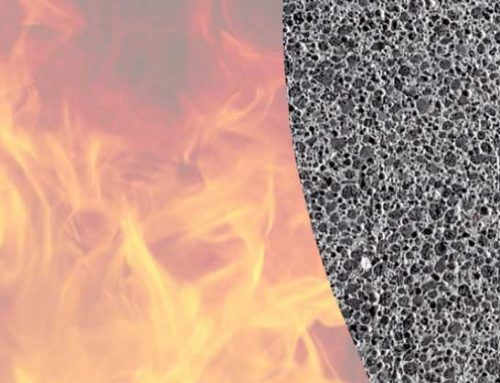 Fire resistance of prefabricated ceramic houses